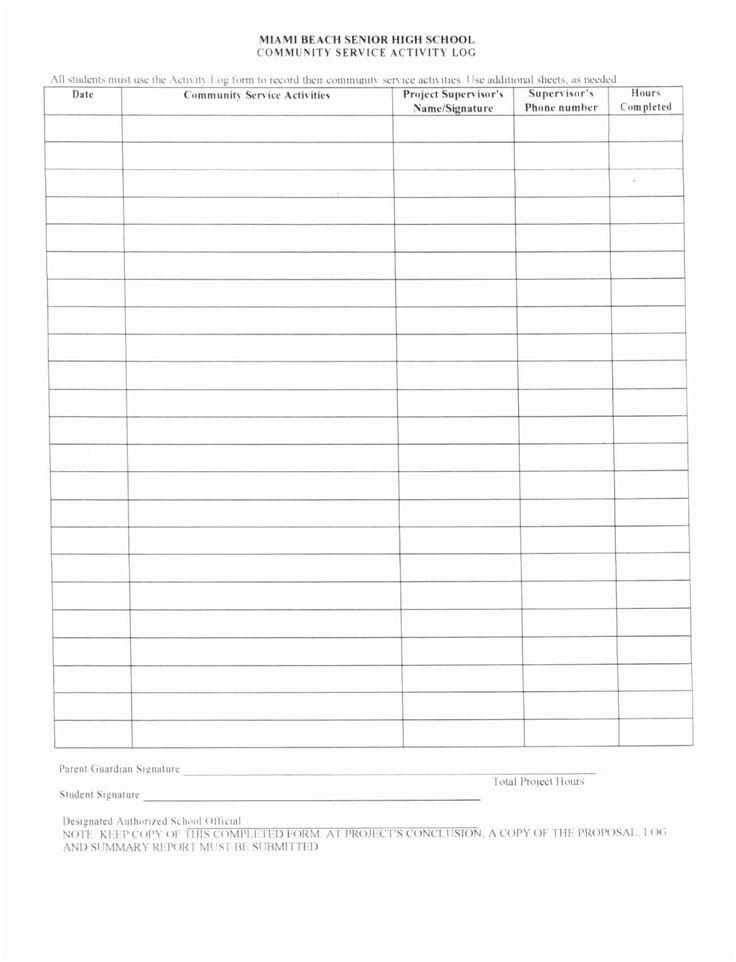 Volunteer Hours Worksheet Printable Worksheets And Throughout Community Service Template Word Community Service Hours Volunteer Hours Community Service