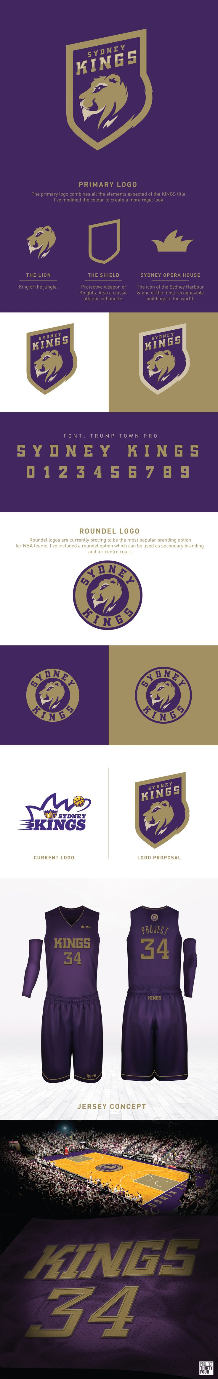 A rebranding exercise for the Sydney Kings of the National Basketball League in Australia.