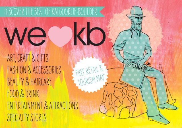 We Love KB Retail Map | Kalgoorlie Boulder Tours Accommodation Information