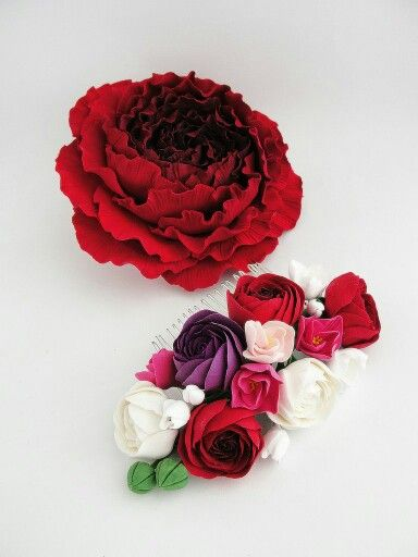 Clay flowers. Wedding accessories. Wedding flowers. Wedding. Handmade flowers. Flowers. Summer. Weddings. Flower comb
