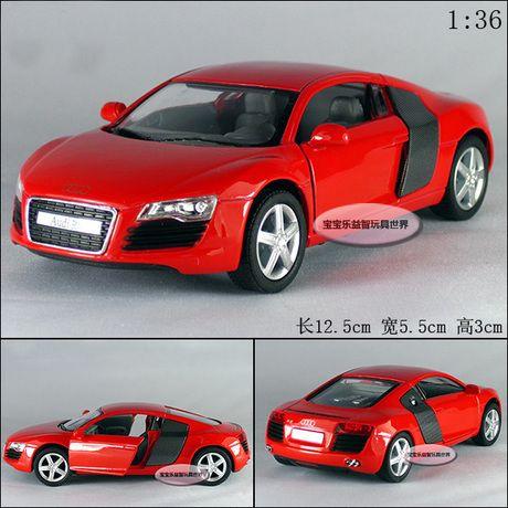 Кэндис го! горячая продажа Супер круто 1:36 мини Audi R8 спортивный автомобиль сплава модели автомобиля игрушки автомобиля дети взрослых подарок на день рождения 1 шт.