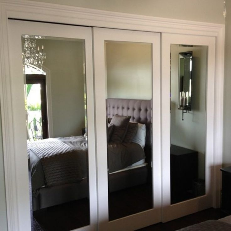 Mirrored Closet Doors Menards  A simple upgrade to any bedroom