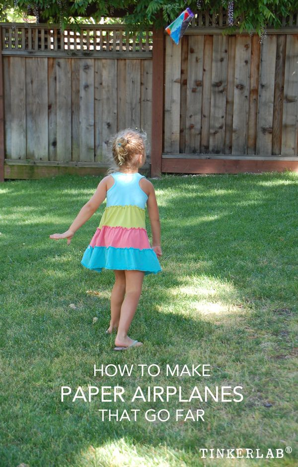 This will be fun for the summer! How to Make Paper Airplanes that go Far!