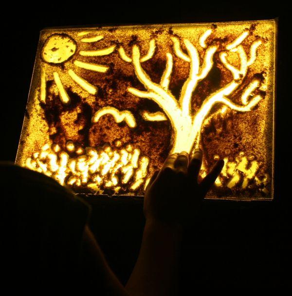 Tutorial come costruire una lavagna luminosa (lightbox) economica e facilissima