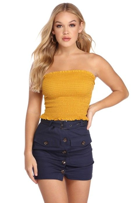 d3ba448565ee CLEARANCE- Smock It Up Tube Top in 2019 | Products | Tube top ...