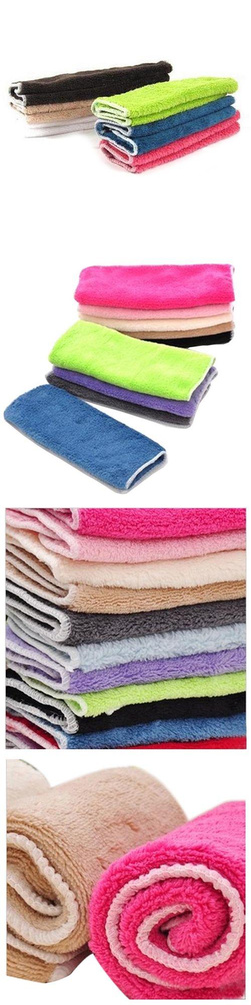 UESH-Anti-grease Cloth Bamboo Fiber Washing Towel Magic Kitchen Cleaning Wiping Rags