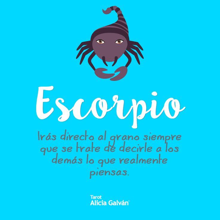 #Escorpio ♏ para saber lo que te deparan las próximas semanas consulta tu horóscopo en nuestra web.