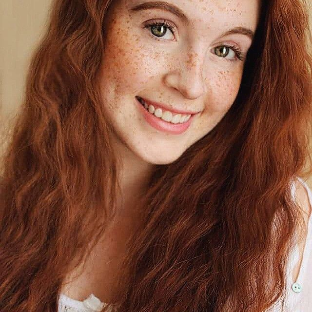 Red haired teen girl super hot