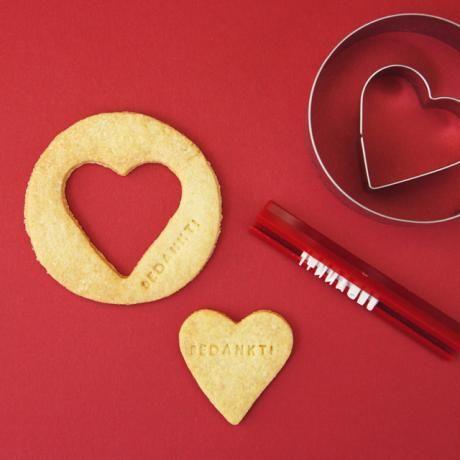 DIY bedank koekjes maken