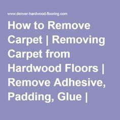 de 25+ bedste idéer til removing carpet på pinterest | trapper