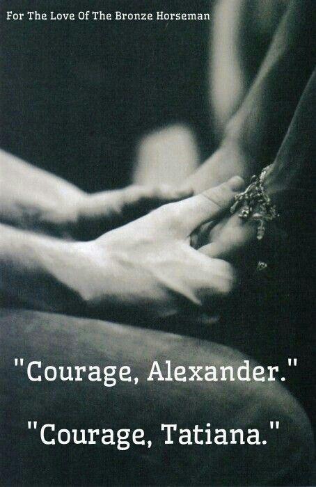 Courage... The Bronze Horseman
