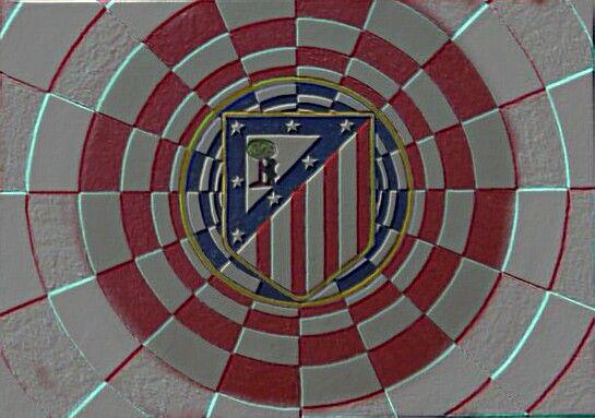 Atletico de Madrid logo efecto digital by carlossimio.deviantart.com on…