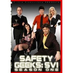 Safety Geeks: SVI Season One 2D Version (DVD)