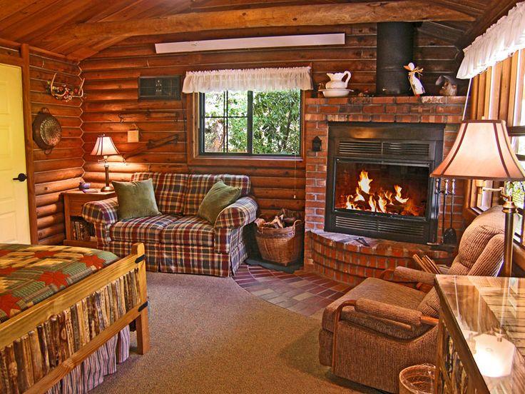 1165 best My Log Home Dream images on Pinterest Live, Log cabins - log cabin living rooms