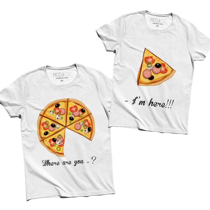 Pizza Çift Kombini Tişört Eksik pizza dilimini kime verdiniz ? İki sevgili bir bütünün parçasıdır, birbirini tamamlar. Bu pizzada olduğu gibi. Herkes o eksik parçasını arar, bulduğu anda ise büyük bir mutluluk duyar. Aşk işte tam olarak orada başlar. Siz de eksik parçanızı bulduysanız, bu tişört kombini tam olarak sizin hislerinizi ifade etmenin en güzel yollarından biri olarak sizleri bekliyor. https://modacix.com/pizza-cift-tisortleri