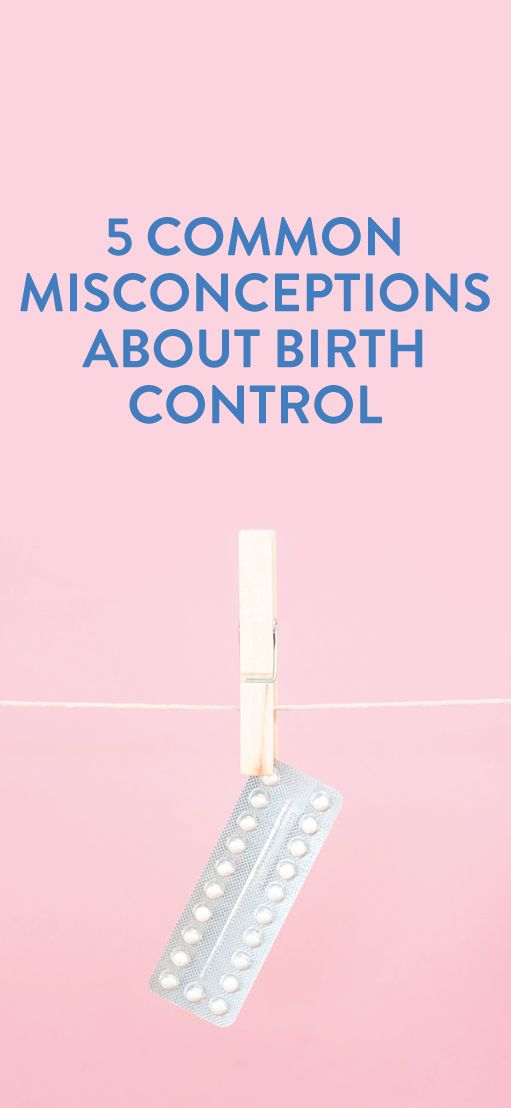 myths and misconceptions about birth control #interesting #health #misconceptions