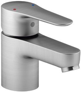 KOHLER K-16027-4-CP July Single Handle Bathroom Sink Faucet, Polished Chrome $122