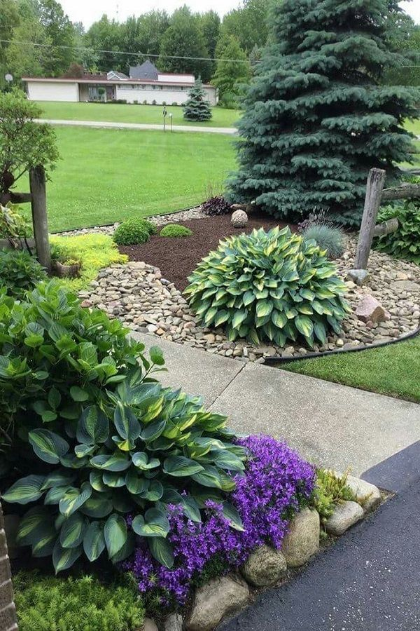 30 Backyard Landscaping Ideas On A Budget Front Yard Landscaping Design Yard Landscaping Front Yard