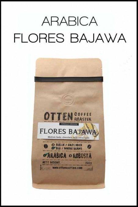 KOPI ARABICA FLORES BAJAWA | OttenCoffee - Mesin Kopi , Coffee Grinder , Barista Tools , Kopi Indonesia