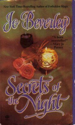 Secrets Of The Night by Jo Beverley Historical Book 0451408896