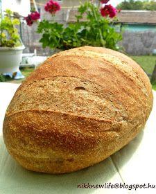 """Ez az A KENYÉR, amit kötelező elkészíteni mindenkinek.  Azoknak pláne akiknek a teljes kiőrlésű kenyér fogalma összeolvadt a """"féltégla"""" k..."""
