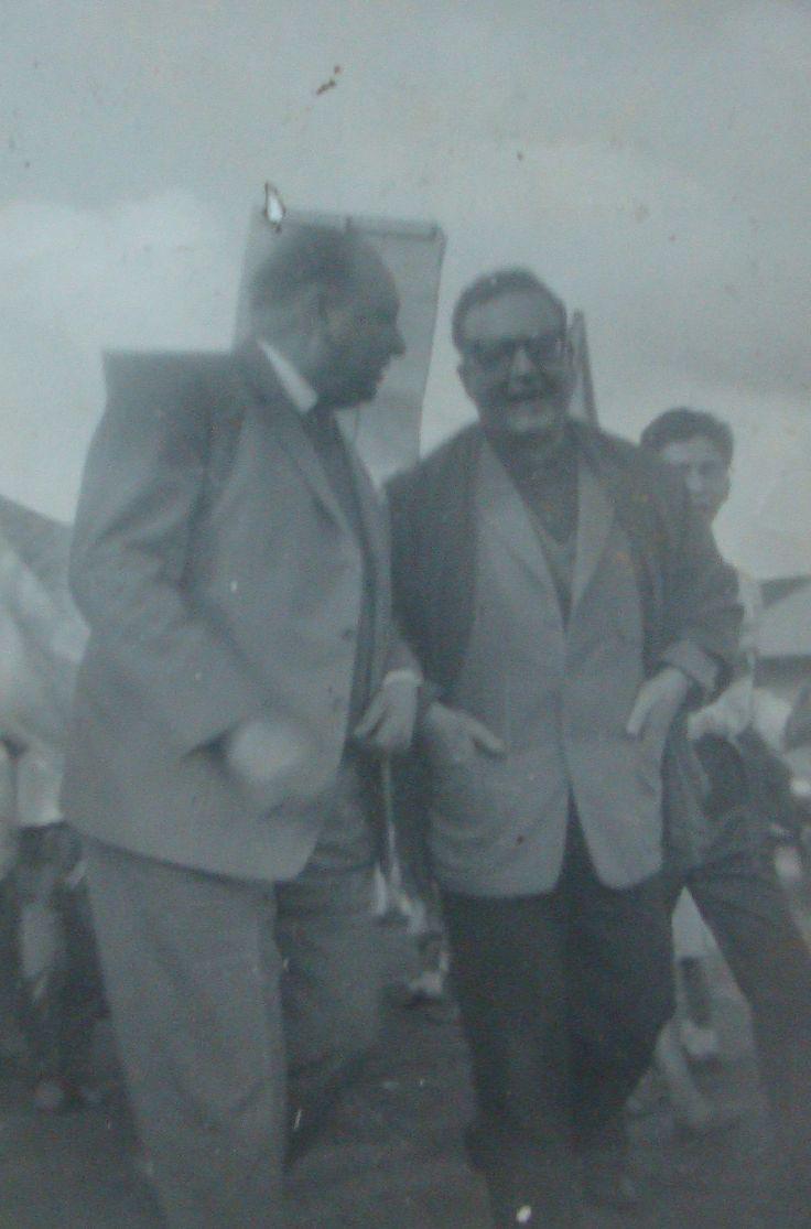 Teobaldo Basso Räber y Salvador Allende