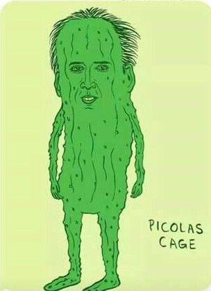Because we all need a little Picolas Cage in our life.