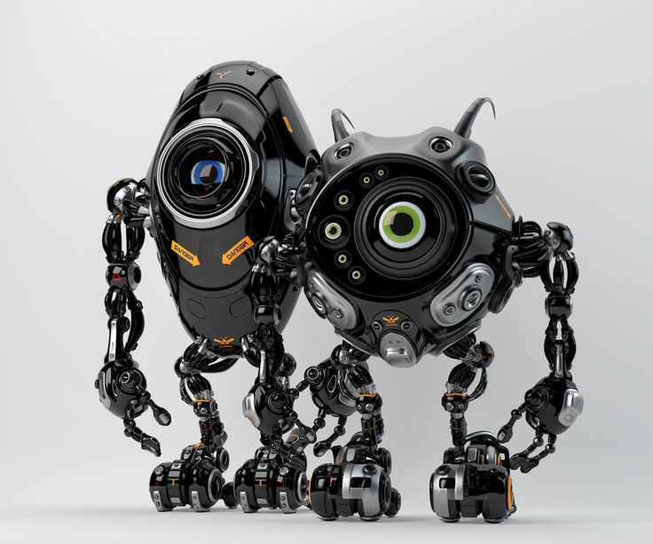 Robotic friends from another planet by Ociacia on deviantART via PinCG.com