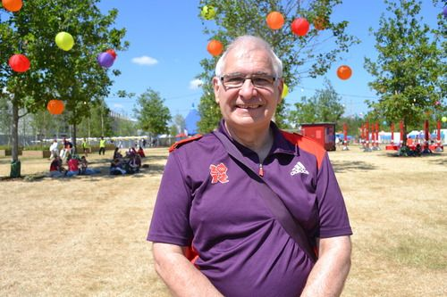 We met Stephen Dawkins from Ilkeston in Derbyshire at Go Local, the UK's biggest celebration of volunteering. One year from being a Games Maker at the Aquatics Centre, he tells us what he's up to
