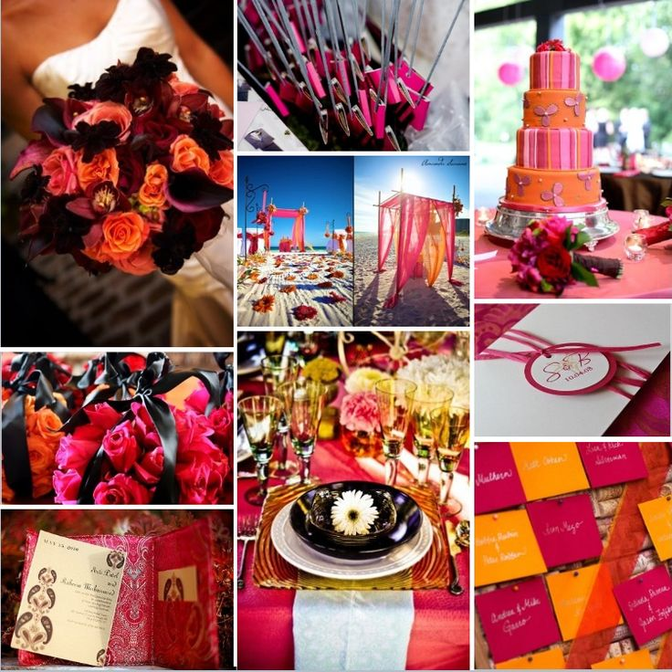 29 best orange and pink occasions images on pinterest pink orange orange wedding inspiration wedding inspiration boards photos on weddingwire junglespirit Image collections