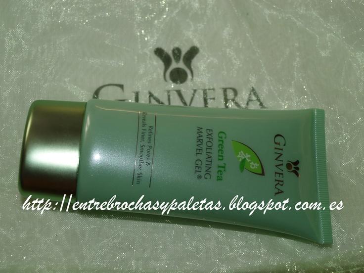 Entre brochas y paletas: Un exfoliante diferente: Gel exfoliante Ginvera Green Tea Marvel Gel  http://entrebrochasypaletas.blogspot.com.es/2013/01/un-exfoliante-diferente-gel-exfoliante.html