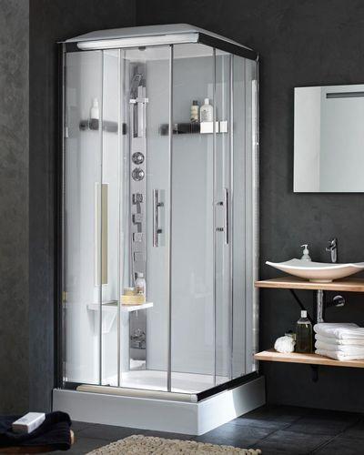 acheter une cabine de douche laquelle choisir bathroom pinterest cabine de douche. Black Bedroom Furniture Sets. Home Design Ideas
