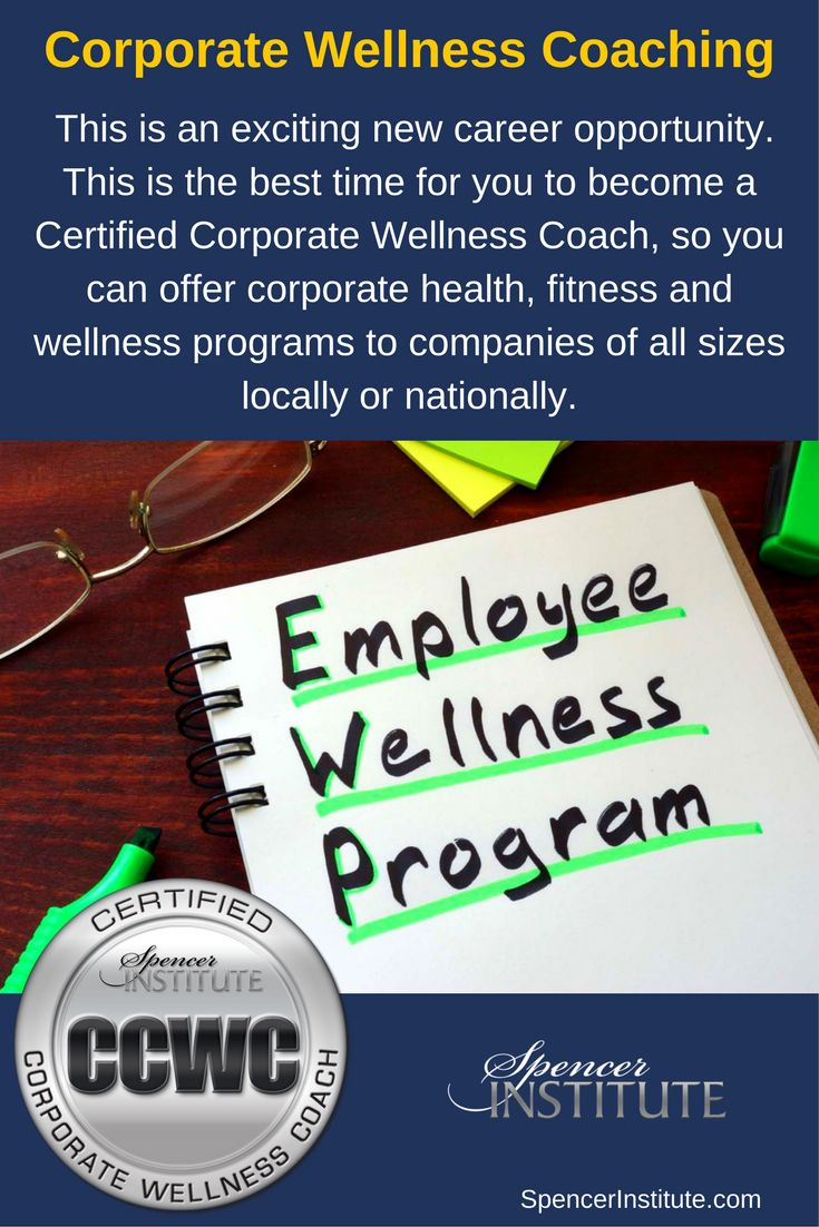 56 best coach training and certification images on pinterest train to become a certified corporate wellness coach and corporate wellness facilitator workplace health promotion employee health and wellness 1betcityfo Gallery