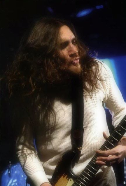 This is the inspiring John Frusciante, former Red Hot Chili Peppers guitarist. If he needs a personal assistant who doubles as a masseuse, I'm the woman he wants.