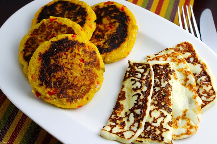 Plantain Arepas with Grilled Queso Blanco | Fresco, Blog ...