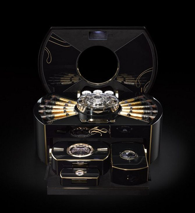 The Emperador Cigar Chest By Imperiali Genève