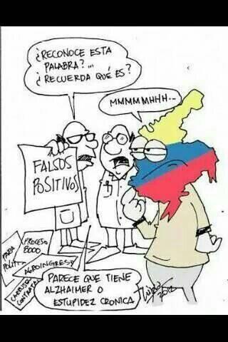 Alzhaimer o estupidez cronica en Colombia