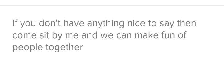 My favorite Tinder bio that I've ever seen