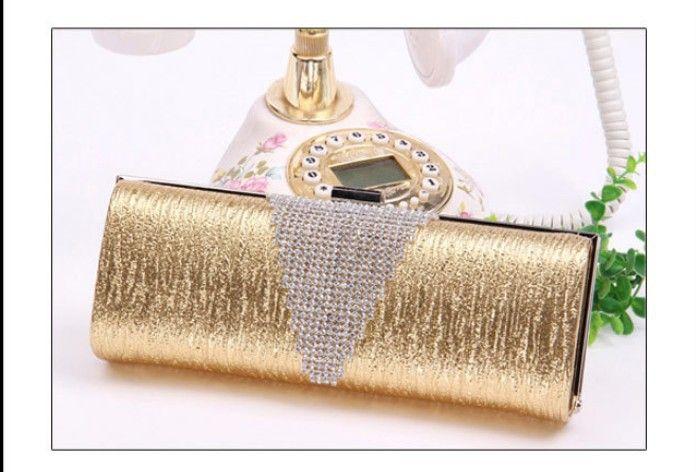 Free Shipping Hot sale New Luxury bag Full crystal ol women's  clutch bag party bag evening bag handbags US $28.58
