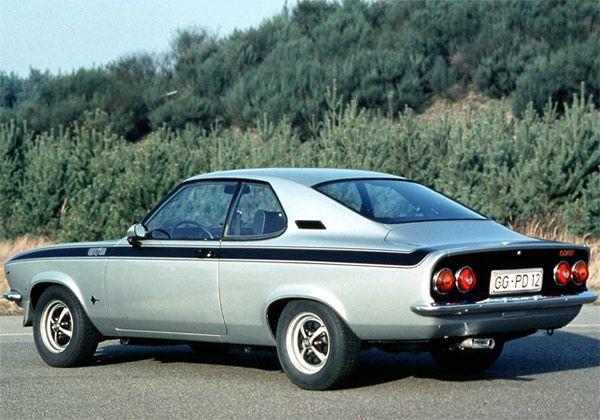 Opel Manta A GT/E in absolute original state