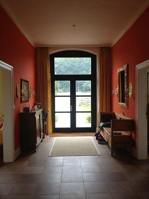 Tarantella 176 - Kreideemulsion - Kreidefarbe - orange Wand und Möbelfarbe