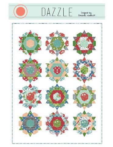 Westwood Acres Fabric — Dazzle Quilt Pattern - Paper Pattern