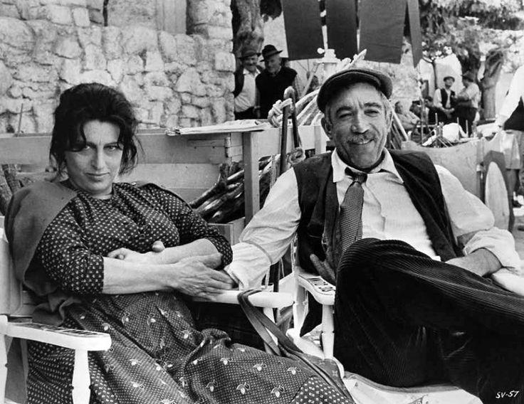 Anthony Quinn and Anna Magnani in Secret of Santa Vittoria (1969)