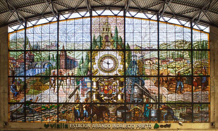 Abando Train Station, Bilbao, Basque Country, Spain