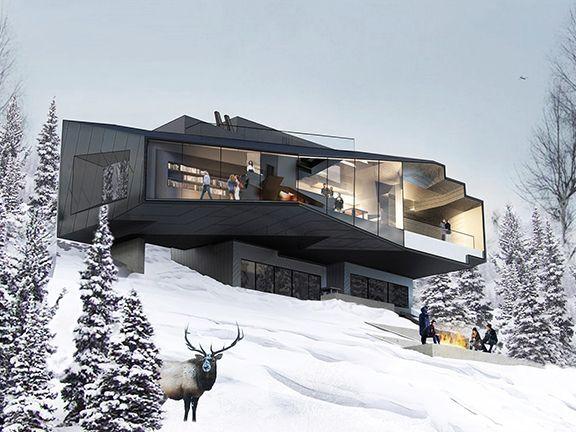 Powder Mountain House Tom Wiscombe Architecture Eden Ut