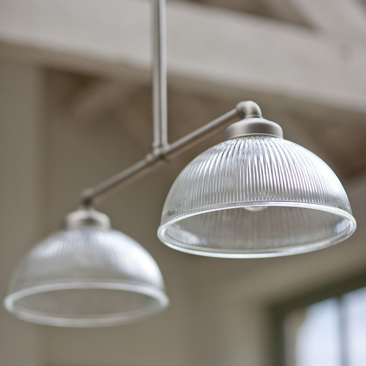 Love the look of these in open plan kitchen/diners... Garden Trading Double Paris Light at Amara