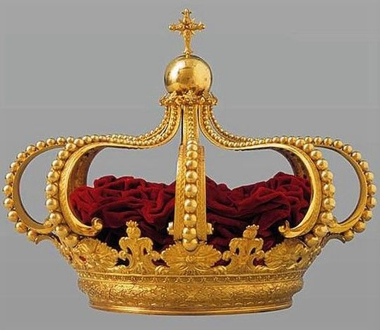 wonderhome — The Crown of John VI, also known as the Portuguese...