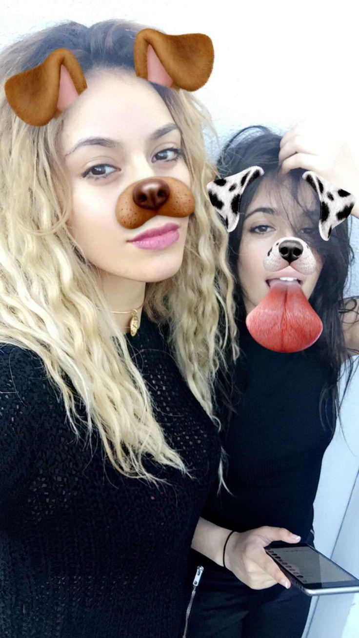 Dinah's snapchat story