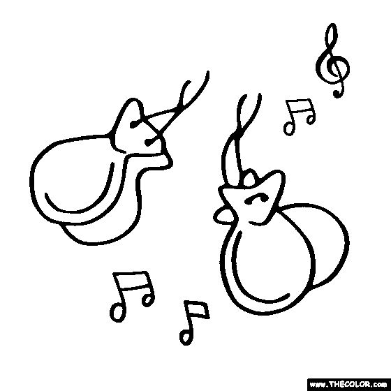 percussion instruments coloring pages - photo#38