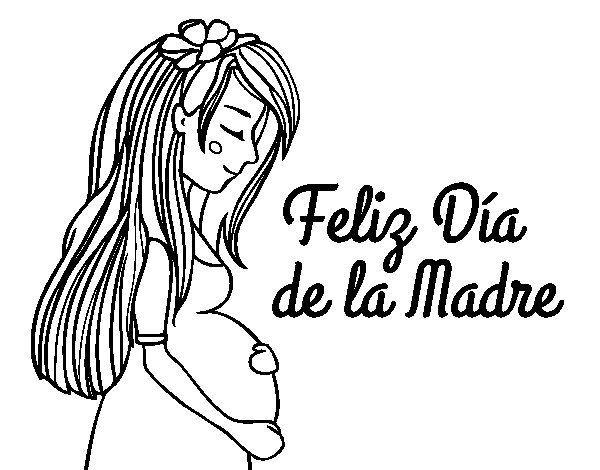 Pin En Embarazadas Dibujo